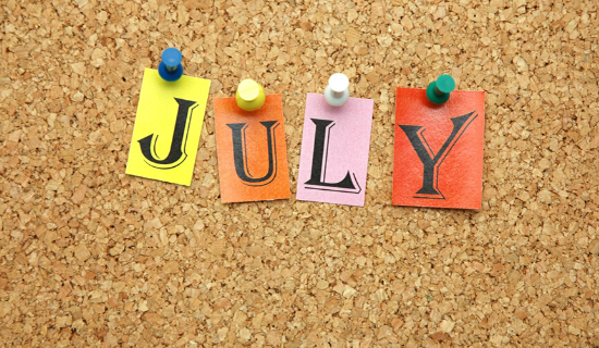 National Days in July For You to Blog and Post About