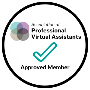 Association of Professional Virtual Assistants - Approved Member Supportal