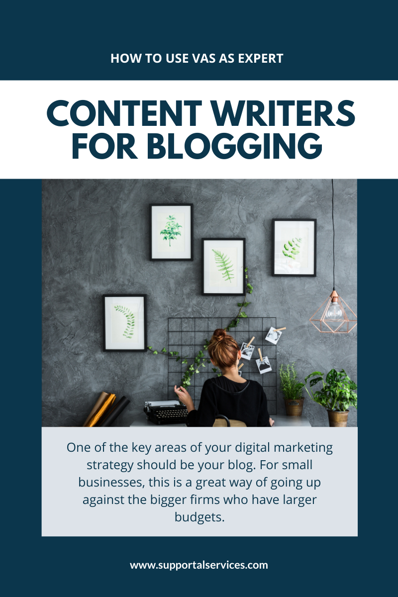 How to work with a VA content writer to create killer blogs Supportal
