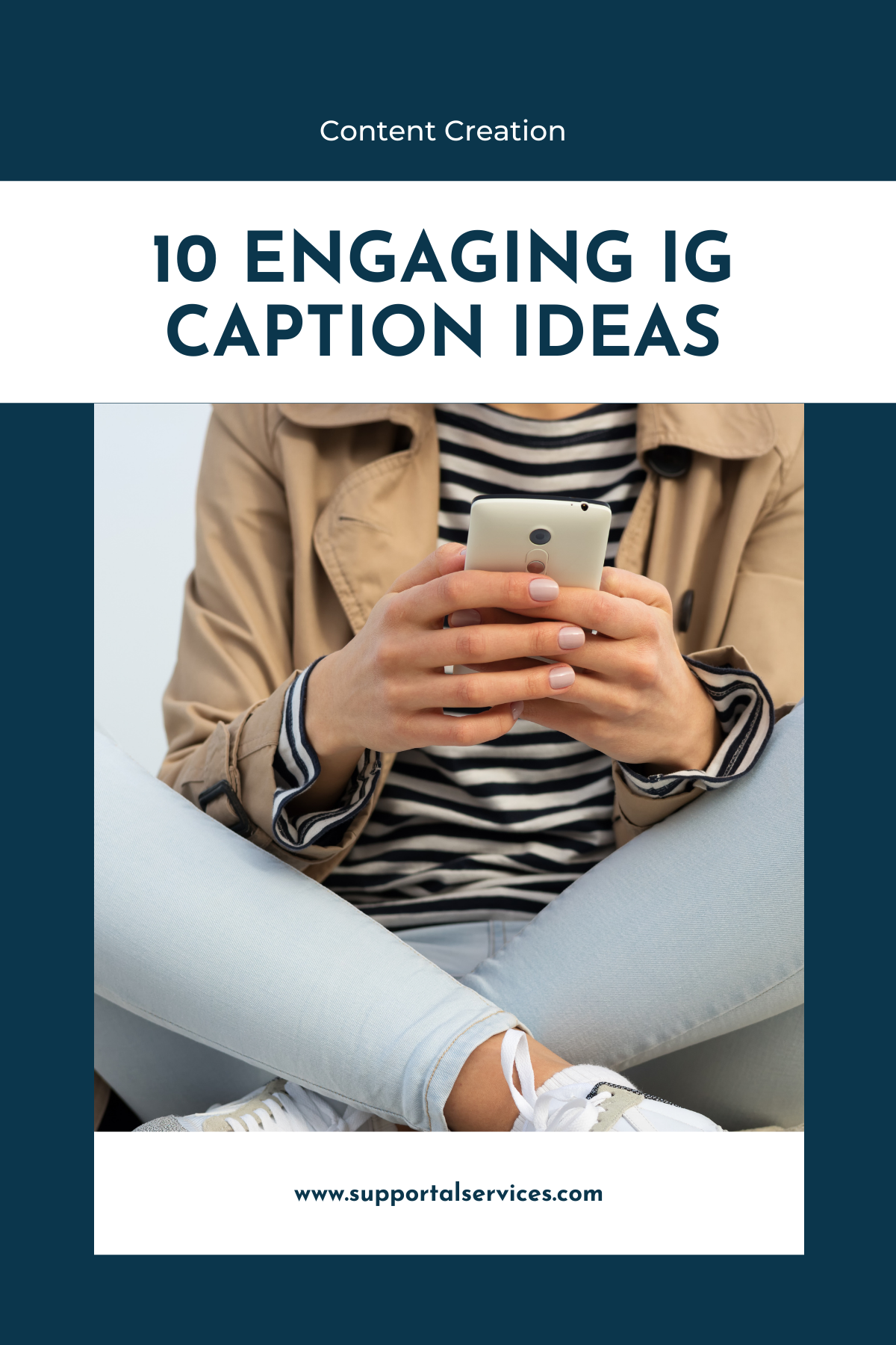 10 Engaging Instagram Caption Ideas Supportal